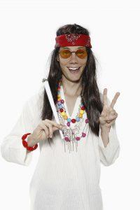 old school hippie